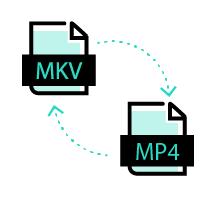 Конвертировать MKV в MP4